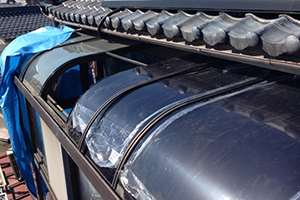 テラス屋根張替修理